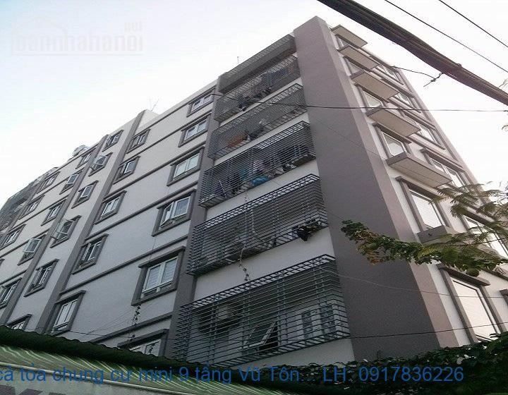 Bán cả tòa chung cư mini 9 tầng Vũ Tông Phan 245m2 giá 37tỷ