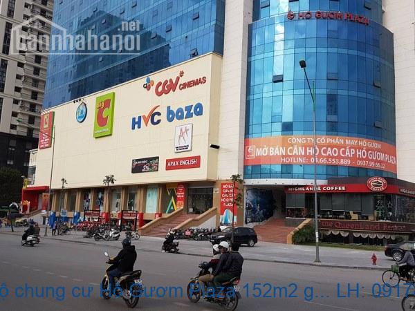 Bán căn hộ chung cư Hồ Gươm Plaza 152m2 giá 15tr/m