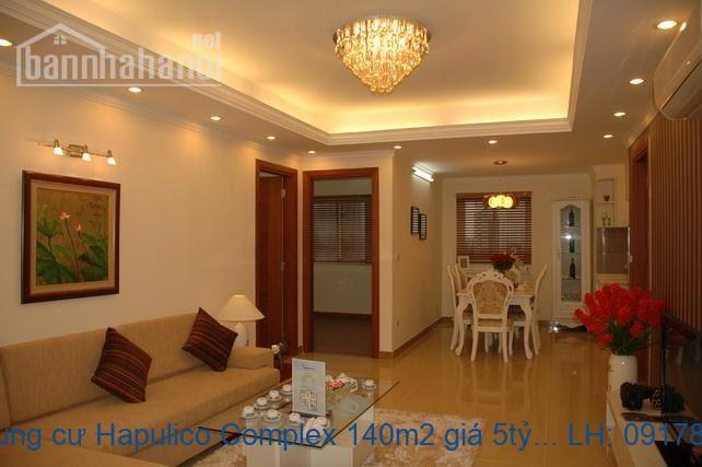 Bán chung cư Hapulico Complex 140m2 giá 5tỷ