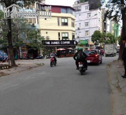 Bán đất đấu giá phố Trần Thái Tông 126m2 MT:7m