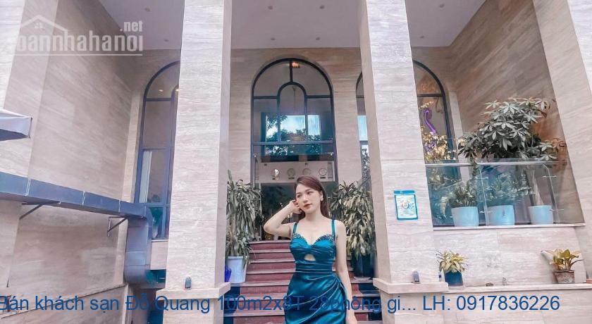 Bán khách sạn Đỗ Quang 100m2x8T 28phòng giá 33tỷ