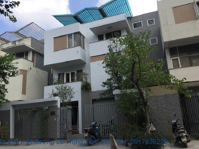Bán nhà mặt đường Lê Trọng Tấn, biệt thự Văn Phú 250m2 giá 29tỷ