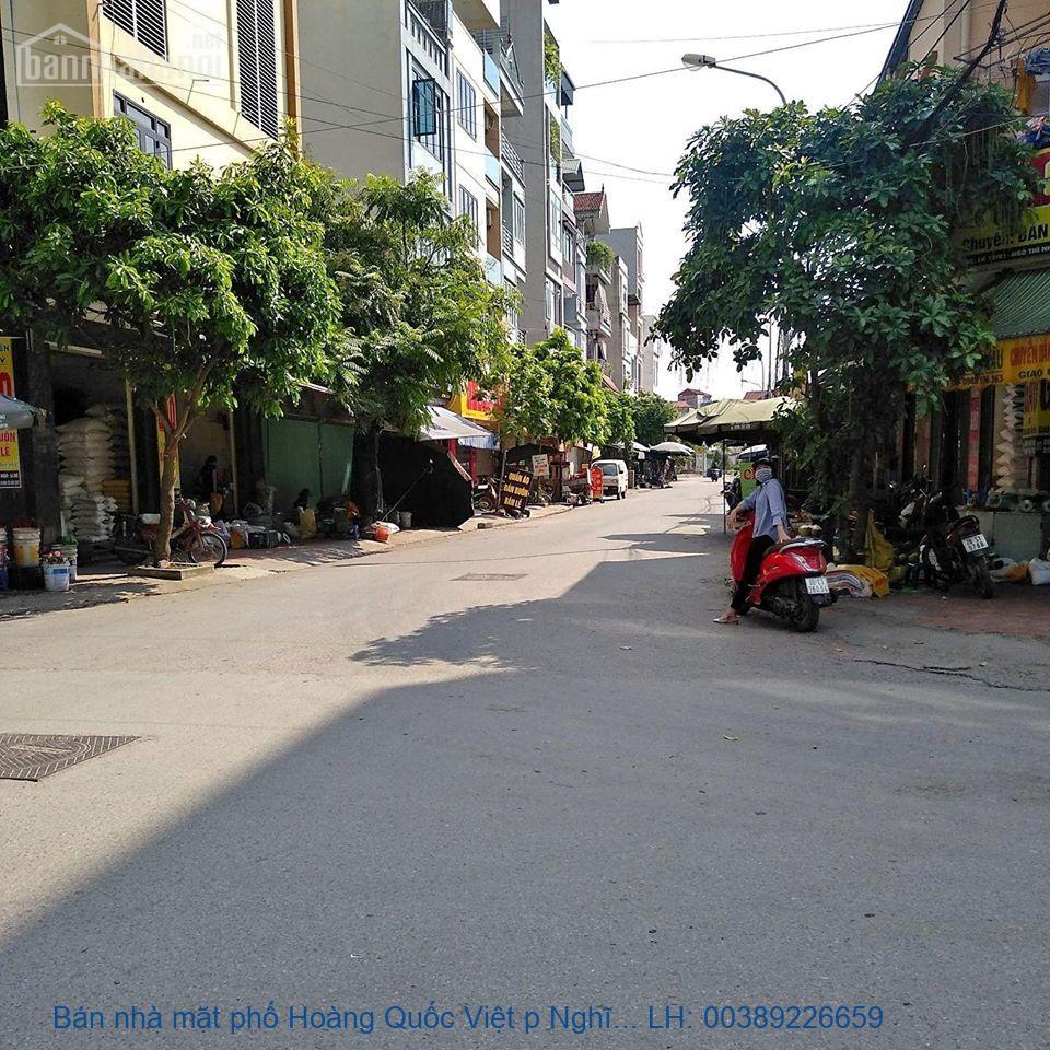 Bán nhà mặt phố Hoàng Quốc Việt p Nghĩa Tân, Cầu Giấy 300m2 giá 16