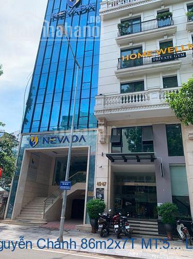 Bán nhà mặt phố Nguyễn Chánh 86m2x7T MT:5,4m giá 38tỷ