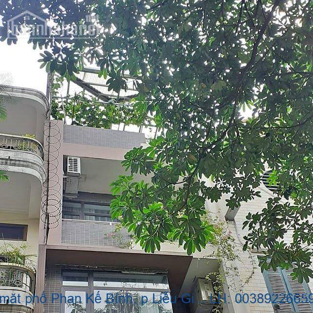 Bán nhà mặt phố Phan Kế Bính, p Liễu Giai, Ba Đình 50m2 giá 15,2 tỷ