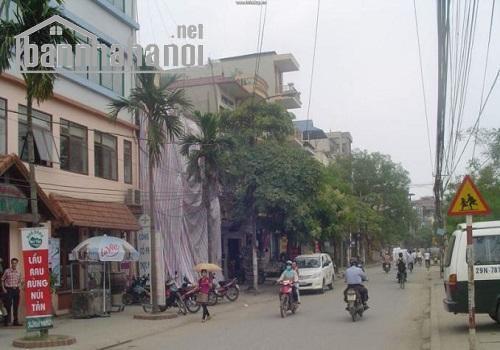 Bán nhà mặt phố Trần Bình 80m2x1T MT:5m giá 14,5tỷ
