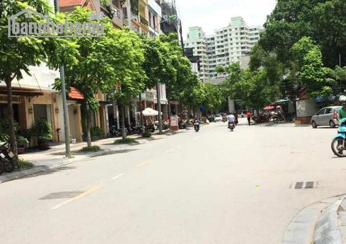 Bán nhà mặt phố Trương Công Giai 126m2x1T MT:7,3m giá 31tỷ