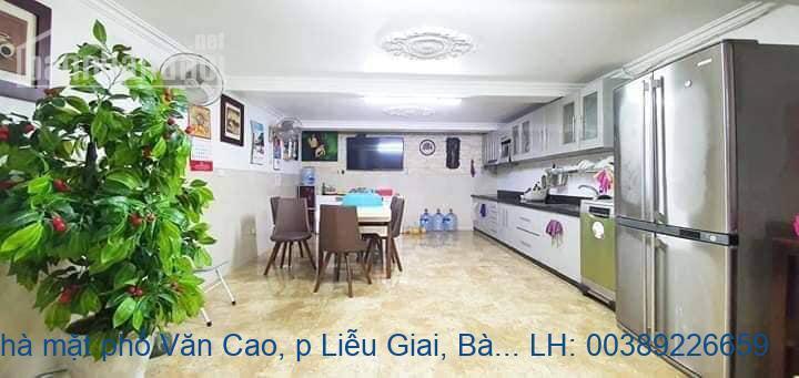 Bán nhà mặt phố Văn Cao, p Liễu Giai, Bà Đình 120m2 giá 36 tỷ