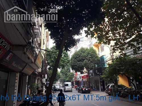 Bán nhà ngõ phố Đỗ Quang 55m2x6T MT:5m giá 16tỷ