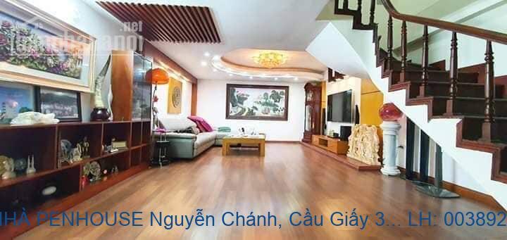 Bán NHÀ PENHOUSE Nguyễn Chánh, Cầu Giấy 380 M2 giá 7,5 tỷ