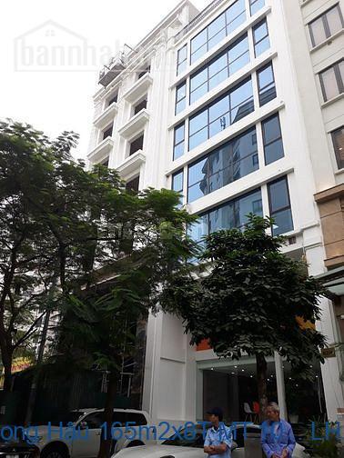 Bán nhà phố Dịch Vọng Hậu 165m2x8T MT:10m giá 57tỷ