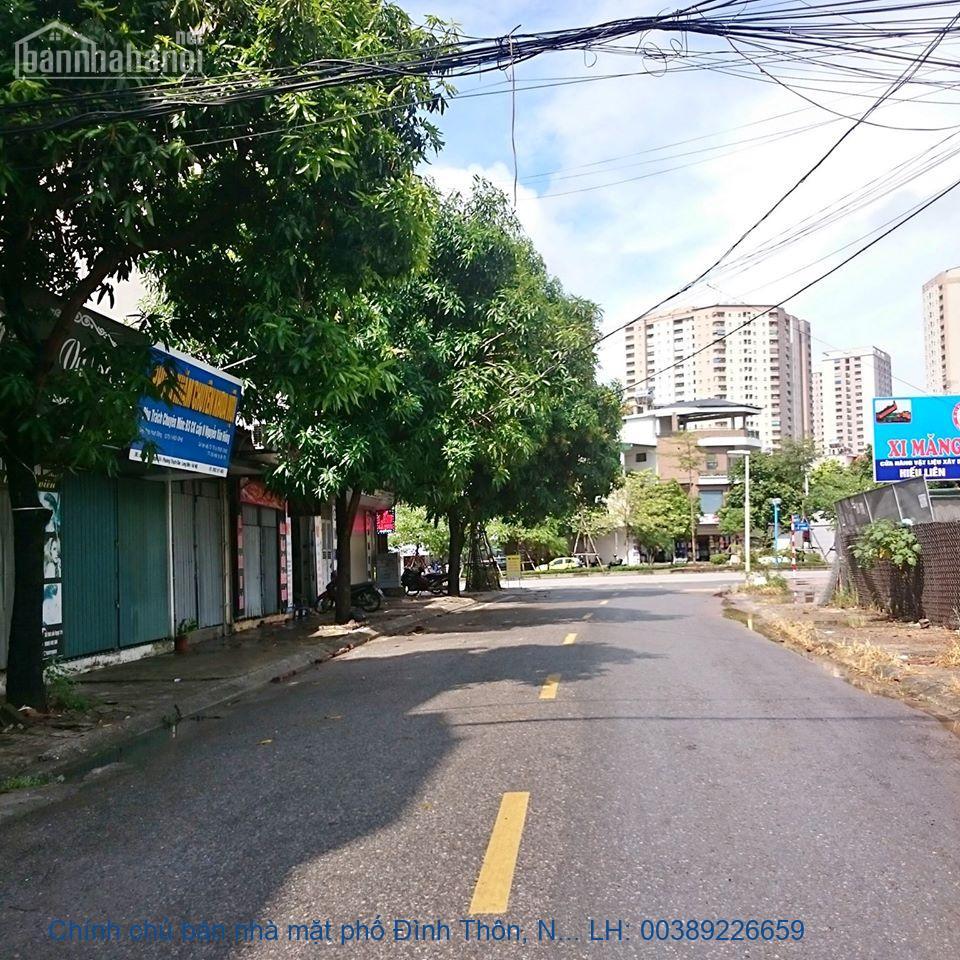 Chính chủ bán nhà mặt phố Đình Thôn, Nam Từ Liêm  260m2 giá 45 tỷ
