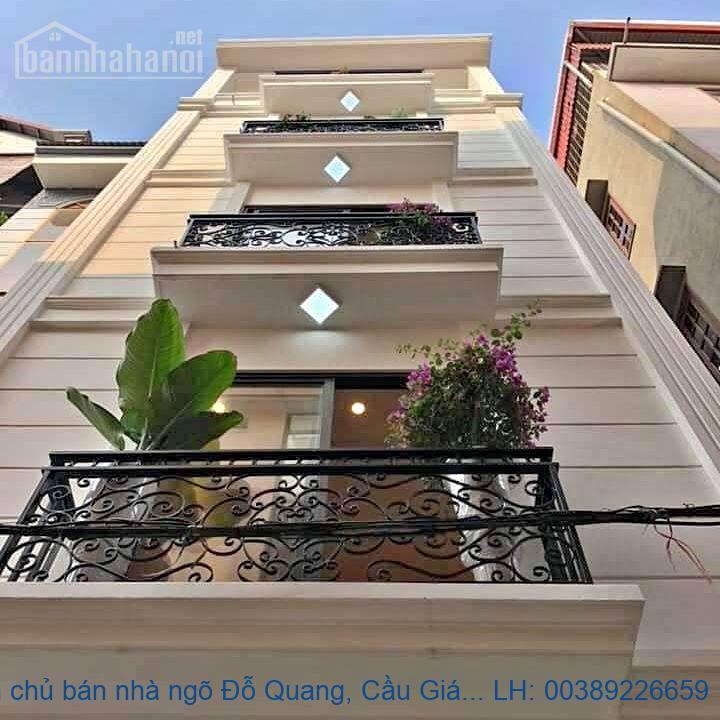 Chính chủ bán nhà ngõ Đỗ Quang, Cầu Giấy 80m2 giá 25 tỷ