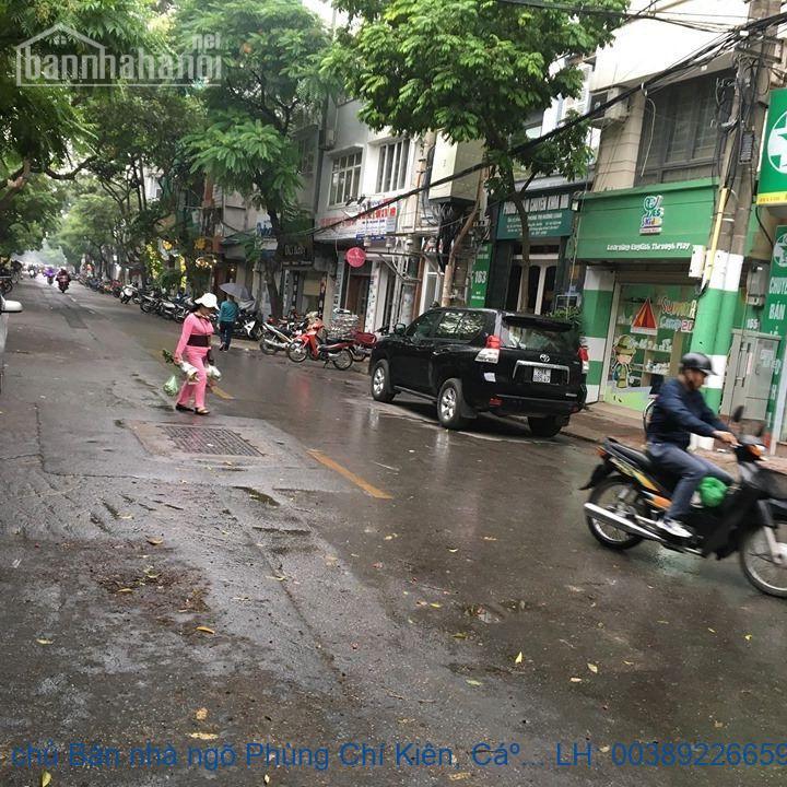 Chính chủ Bán nhà ngõ Phùng Chí Kiên, Cầu Giấy 88m2 giá 8tỷ