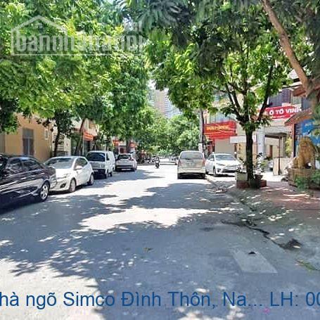 Chính chủ bán nhà ngõ Simco Đình Thôn, Nam Từ Liêm  90m2 giá 12,5 tỷ